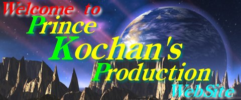 Prince Kochan's Production WebSite